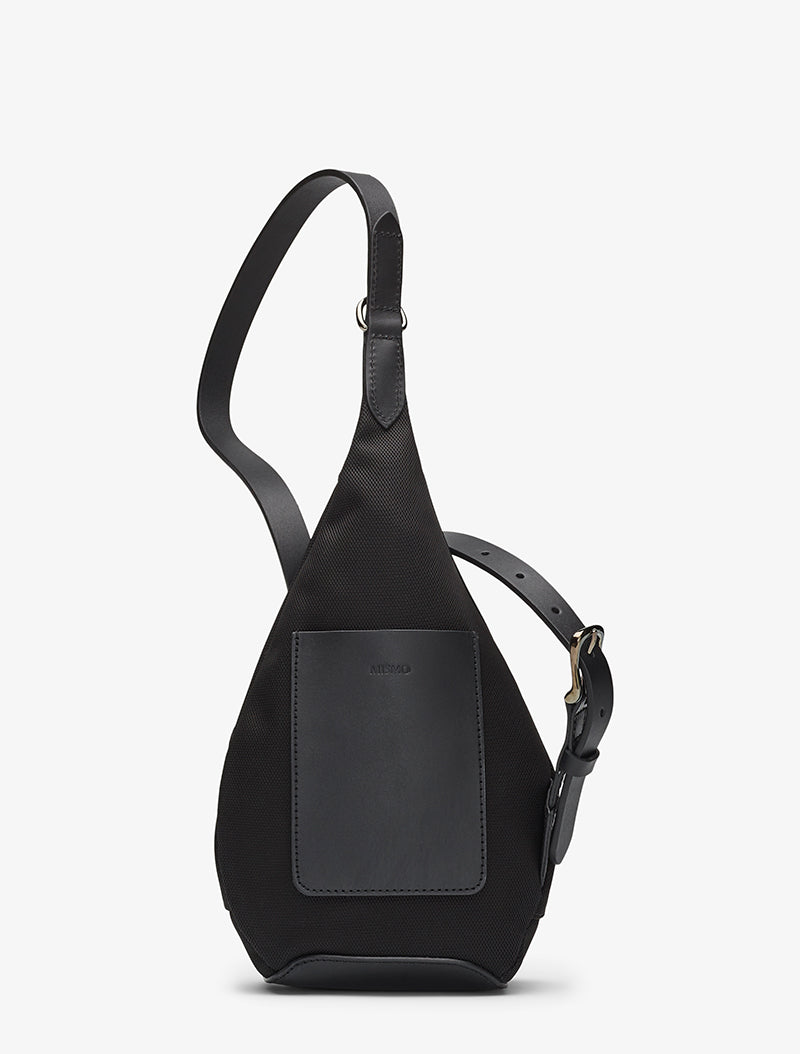 M/S Drop Bag – Black/Black description image