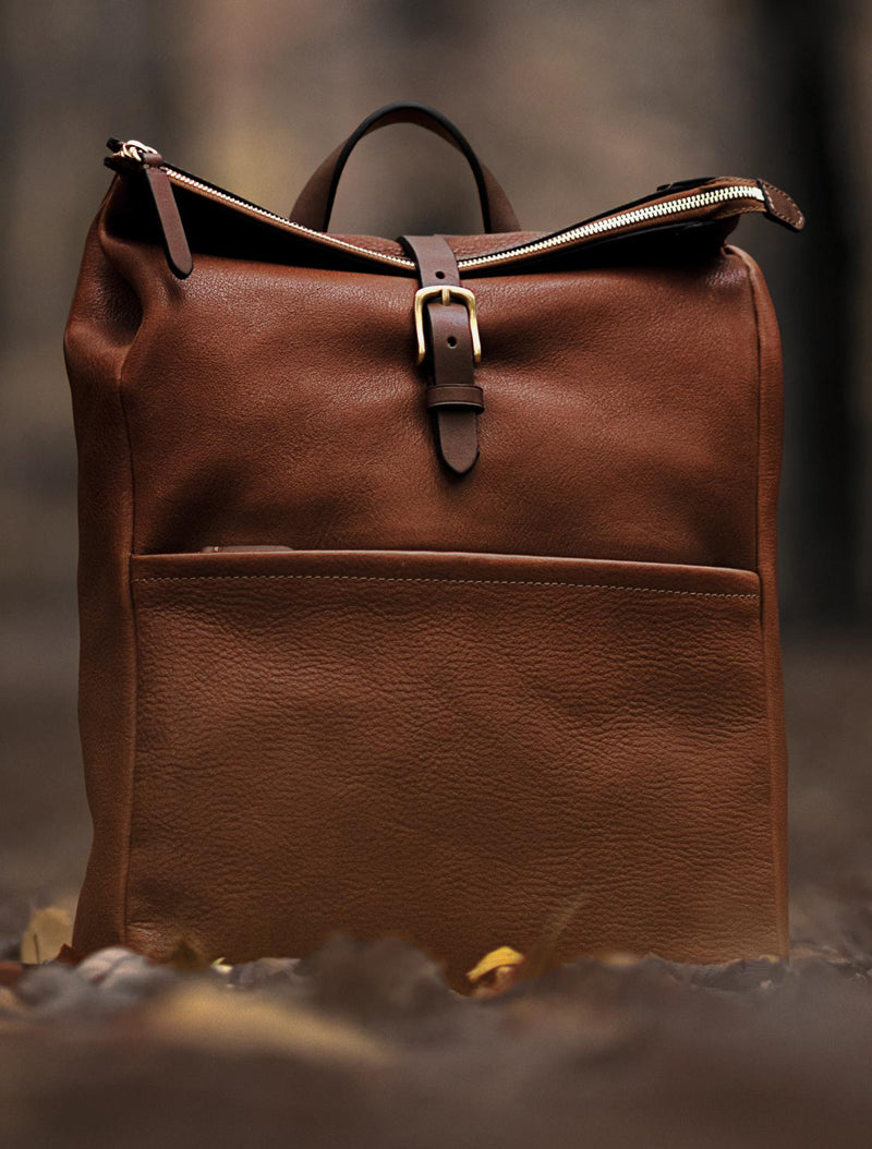 Express, Leather – Tabac/Cuoio description image