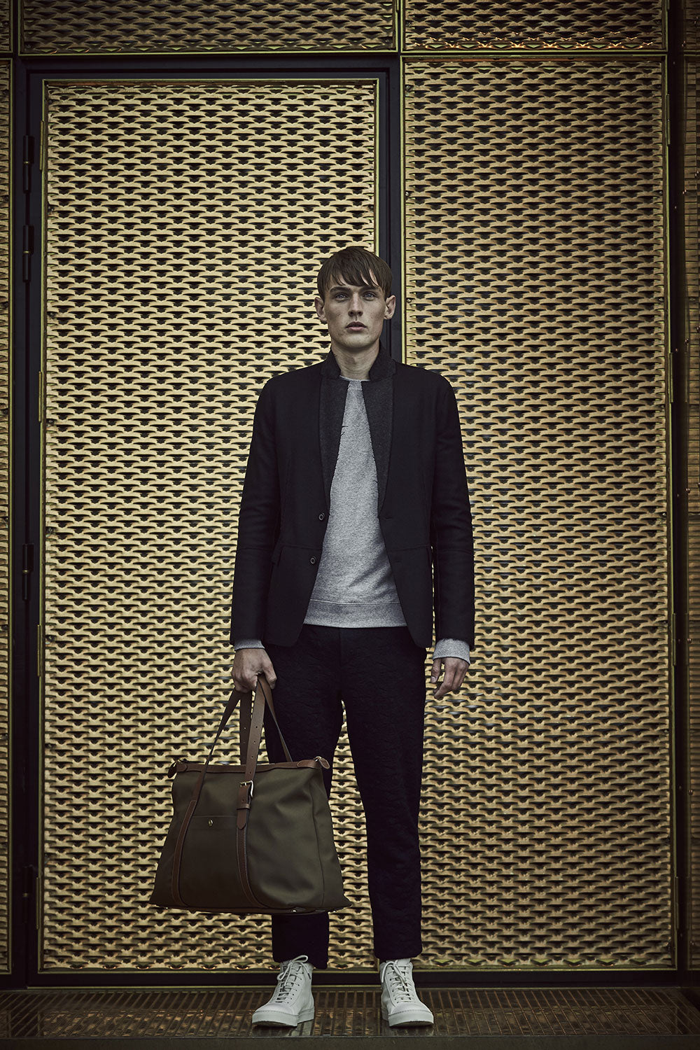 M/S Holdall - Sepia/Cuoio - Weekend bag