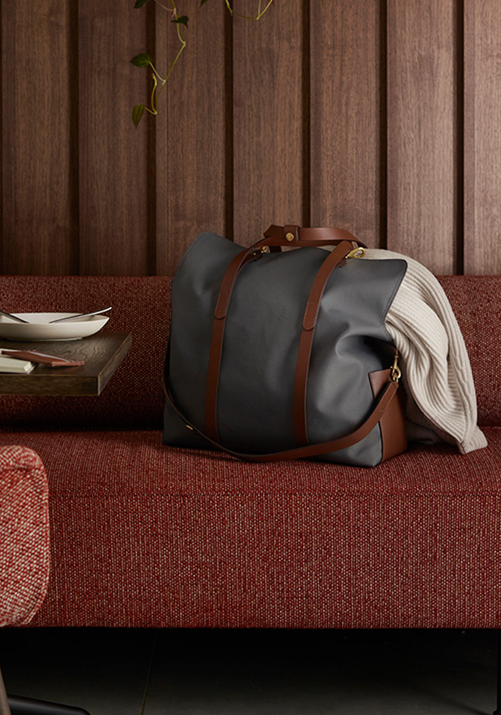 M/S Day Pack - Concrete/Cuoio collection 1