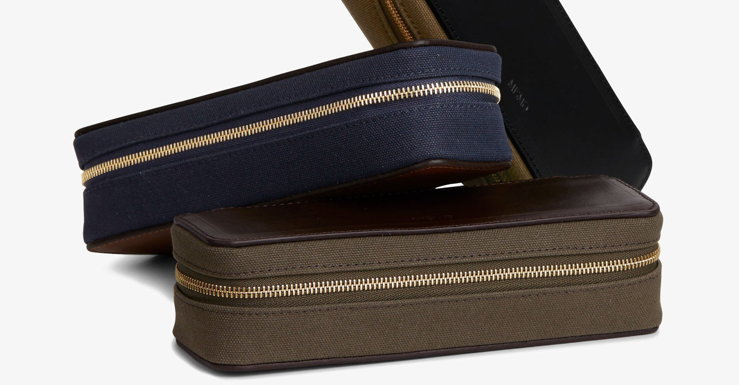 M/S Case - Navy/Dark brown feature image 3