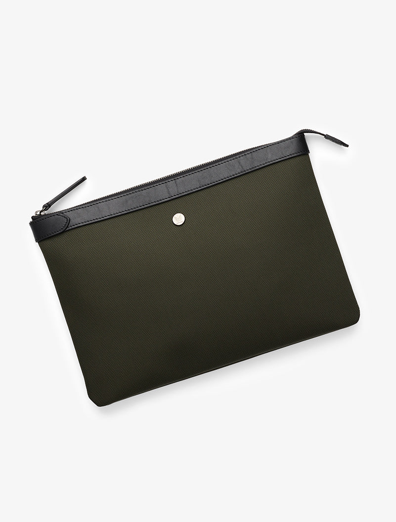 M/S Pouch Large - Skagerrak/Black description image