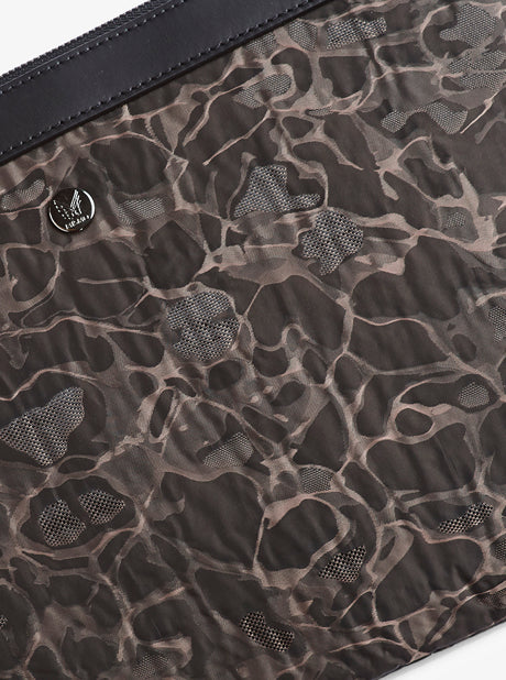 M/S Pouch Large - Camo Jacquard/Black description image