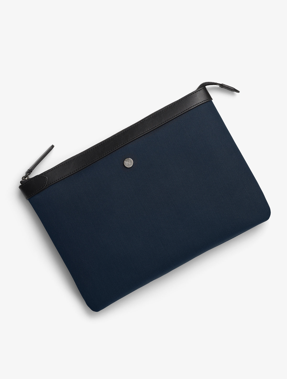 M/S Pouch Large – Deep blue/Black description image