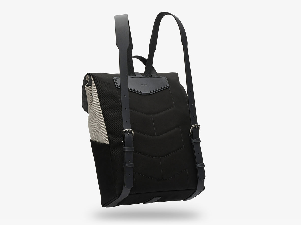 M/S Rucksack –  Black & Glacier/Black description image