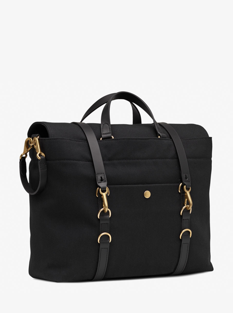 M/S Satchel - Coal/Black description image