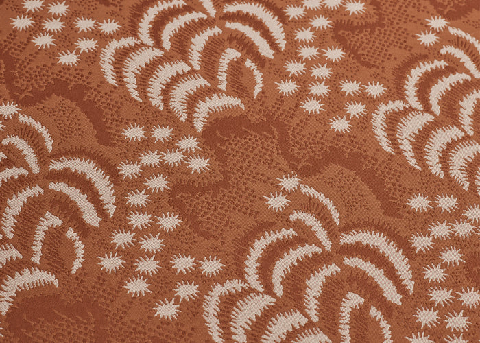 M/S Carry - Palm Jacquard/Cuoio feature image 1