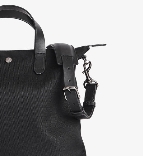 M/S Shopper – Black/Black description image