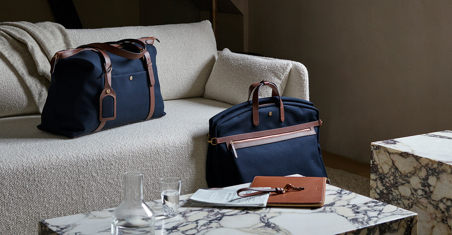 M/S Holdall - Midnight blue/Cuoio feature image 3