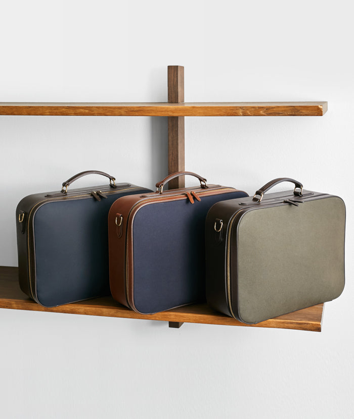 M/S Suitcase - Army/Dark brown feature image 5