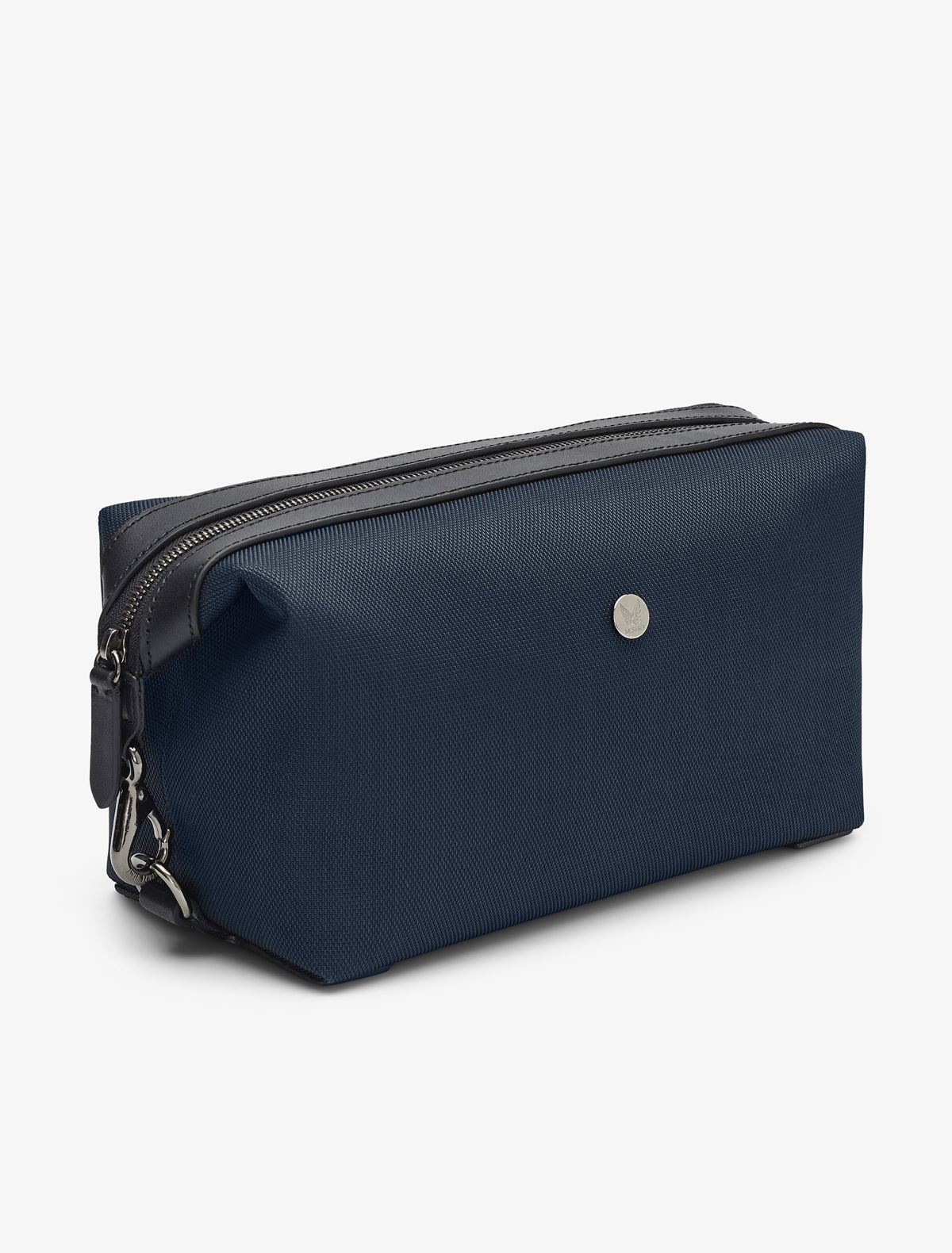 M/S Washbag – Deep blue/Black description image
