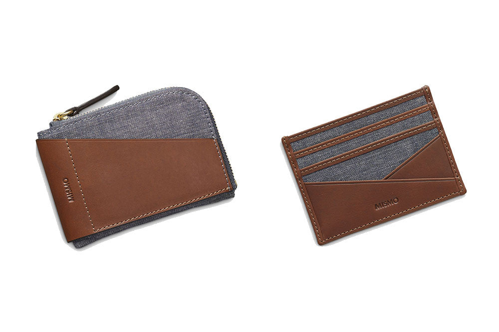 Waxed blues wallets