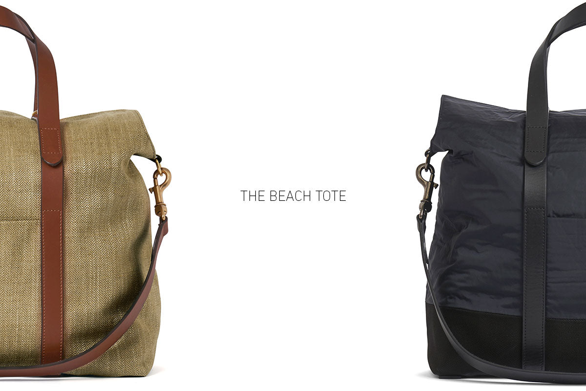 Premiere of the beach tote
