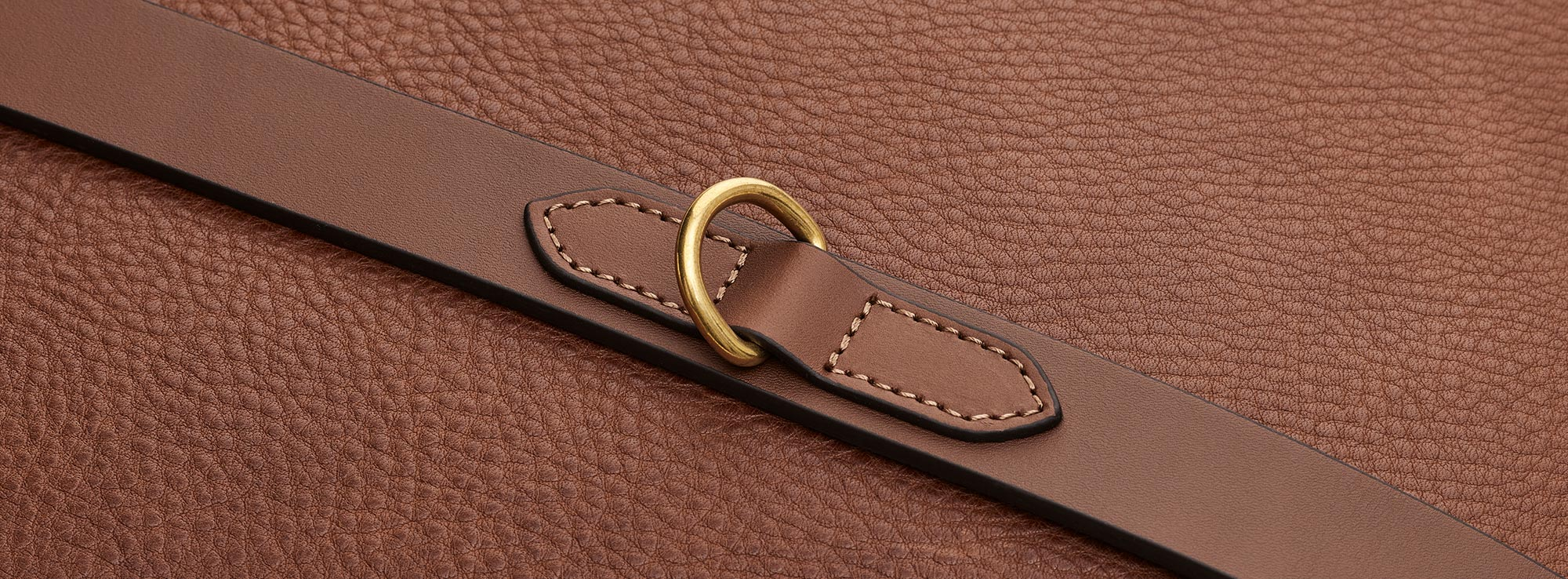 Textured Full-Grain Leather