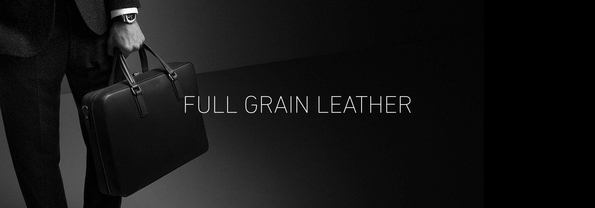 full grain leather collection