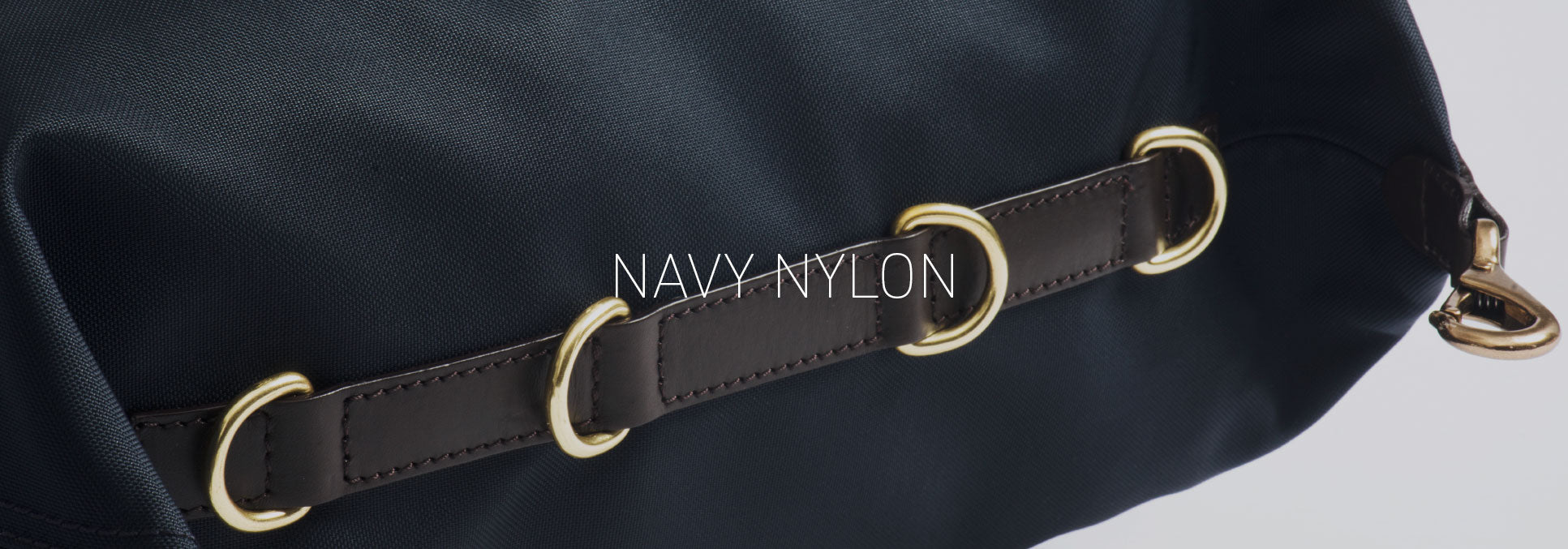 navy nylon collection