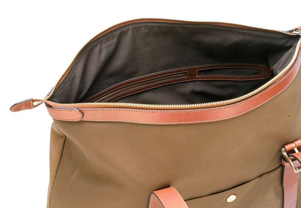 Look inside the M/S Holdall - Sepia/Cuoio
