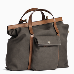 Mismo M/S Soft Work Army/Cuoio