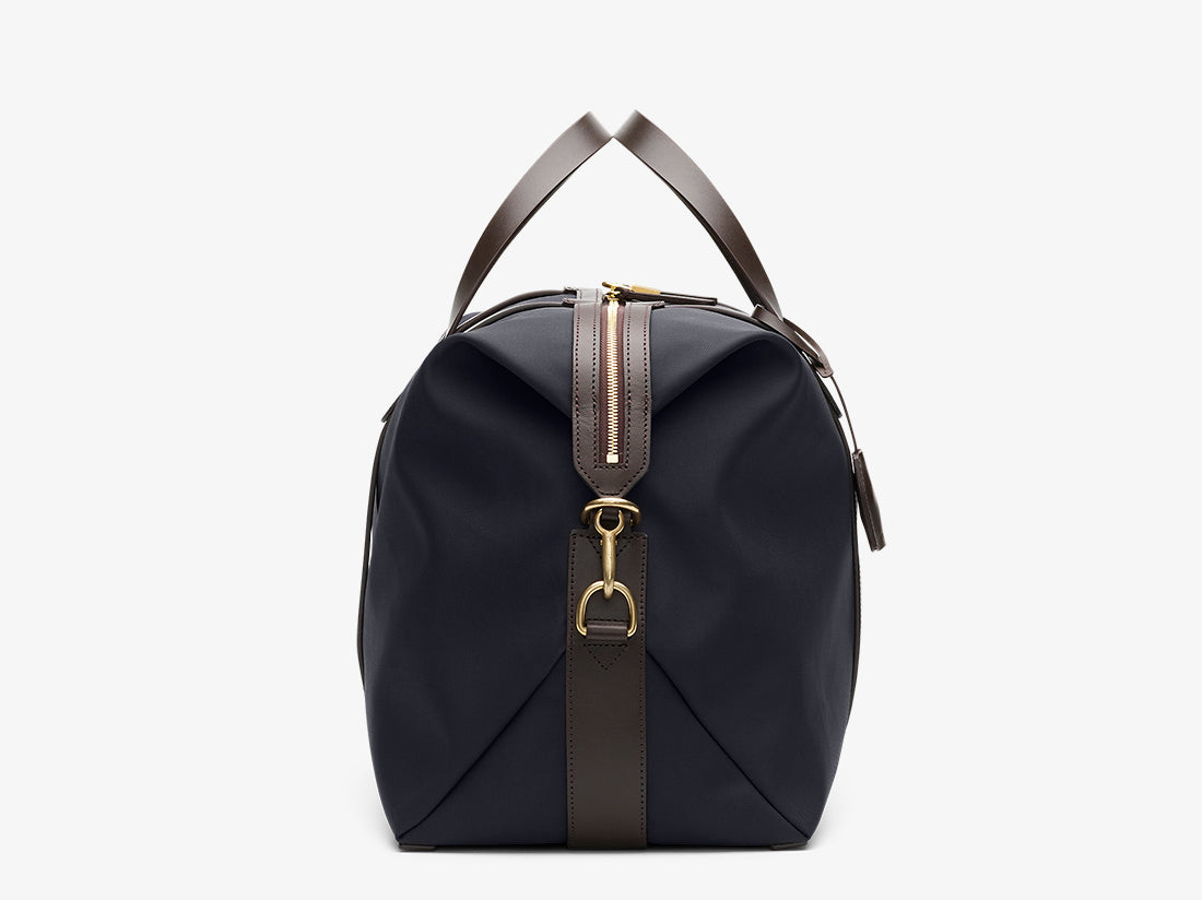 M/S Avail – Navy/Dark brown -  Travel Bags - Mismo