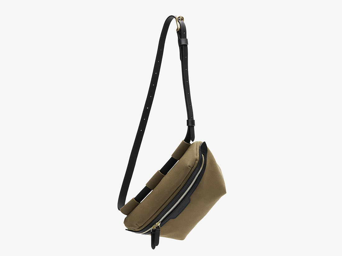 M/S Belt Bag - Khaki/Black