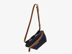 M/S Belt Bag - Midnight blue/Cuoio