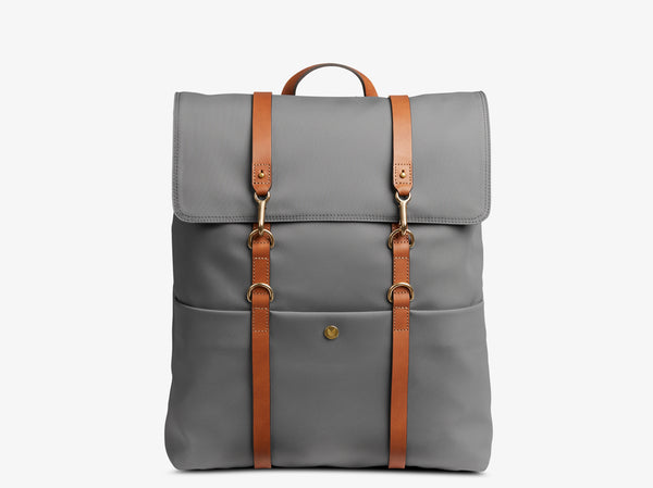 M/S Backpack - Concrete/Cuoio -  Backpack - Mismo