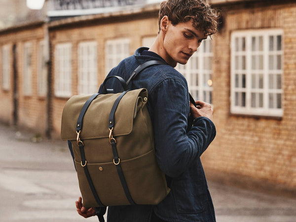 M/S Backpack - Khaki/Black -  Backpack - Mismo