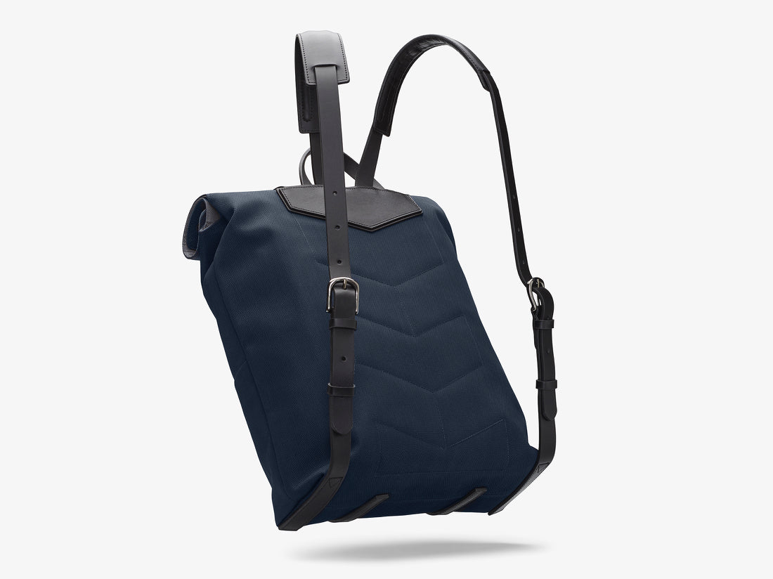 M/S Backpack – Deep blue/Black