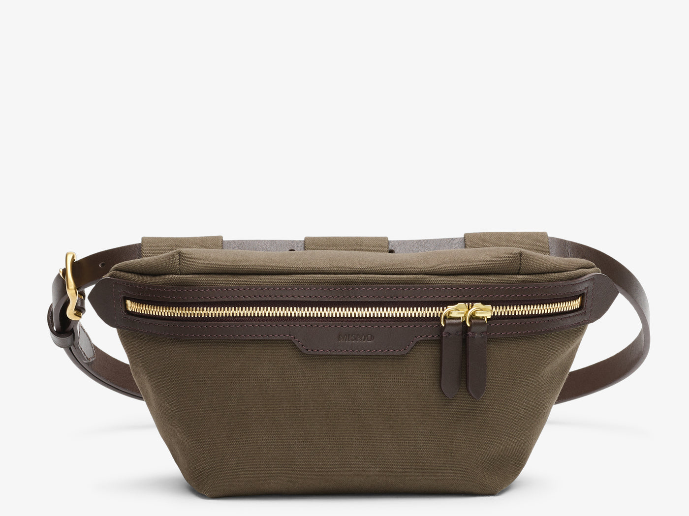 M/S Belt Bag - Army/Dark brown