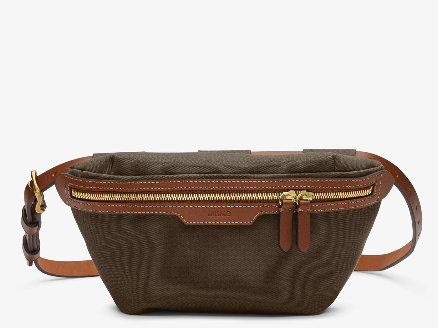 M/S Belt Bag – Army/Cuoio