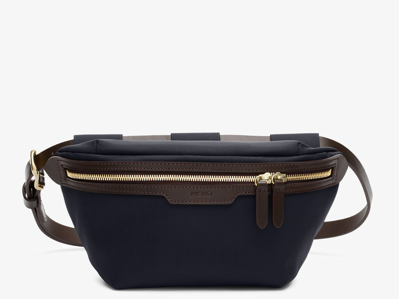 M/S Belt Bag - Navy/Dark brown