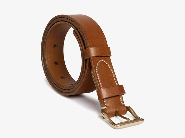 Classic belt - Tabac -  Accessories - Mismo