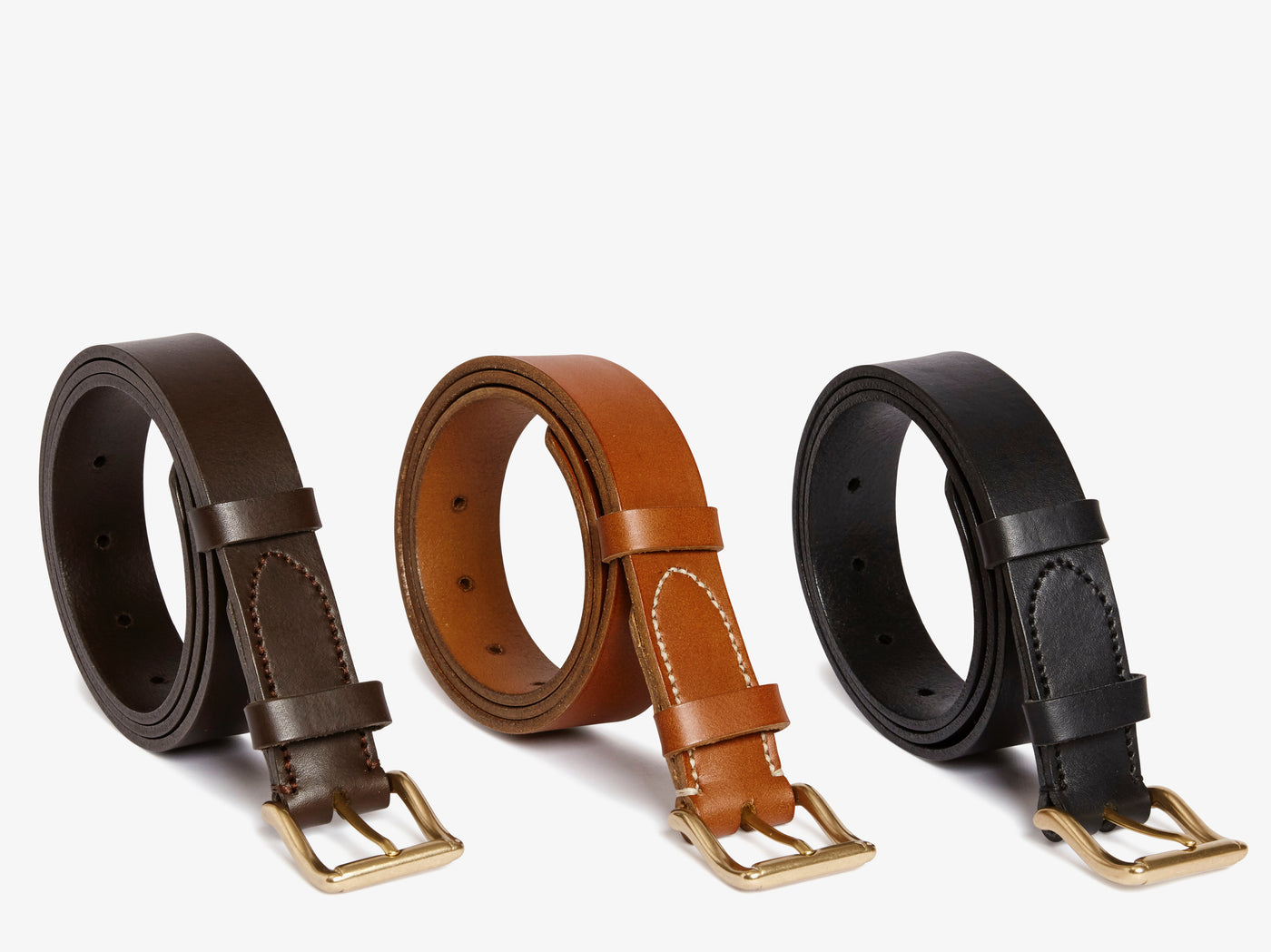 Classic Belt – Dark Brown -  Accessories - Mismo