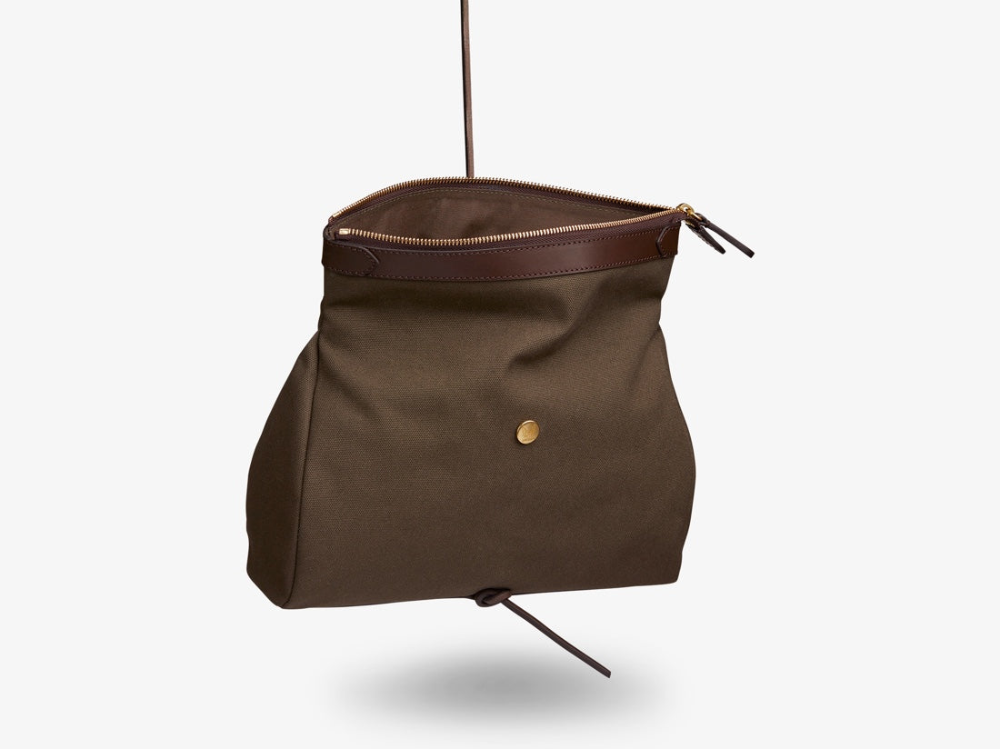 M/S Carry – Army/Dark Brown -  Washbag - Mismo