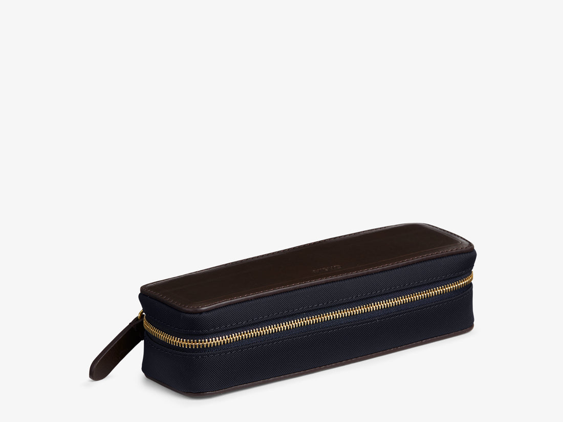 M/S Case - Navy/Dark brown -  Accessories - Mismo