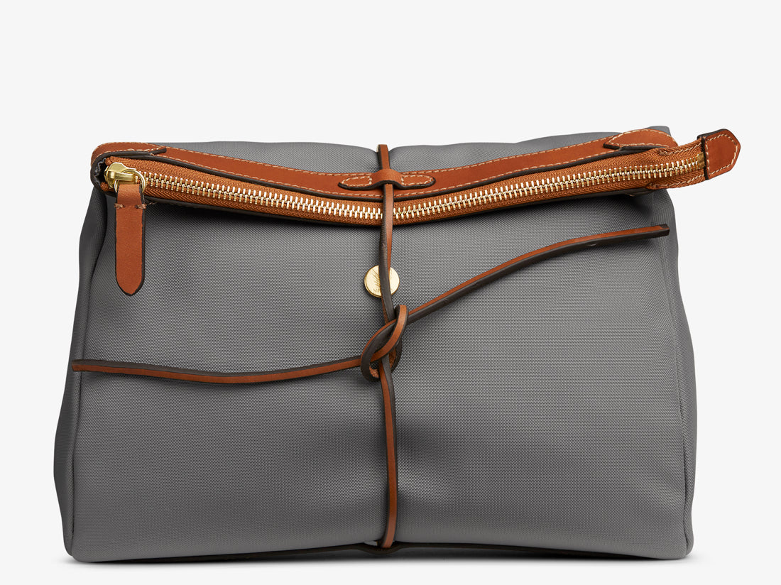 M/S Carry - Concrete/Cuoio -  Washbag - Mismo