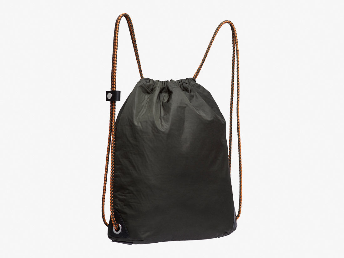 M/S Drawstring - Beluga/Black -  Backpack - Mismo