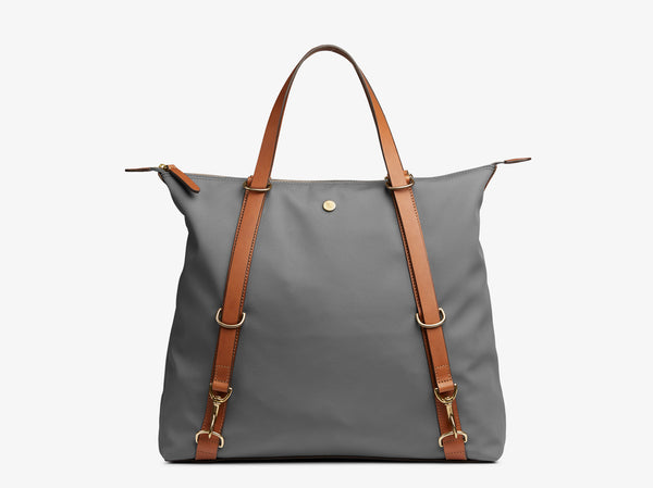 M/S Day Pack - Concrete/Cuoio -  Tote bag - Mismo