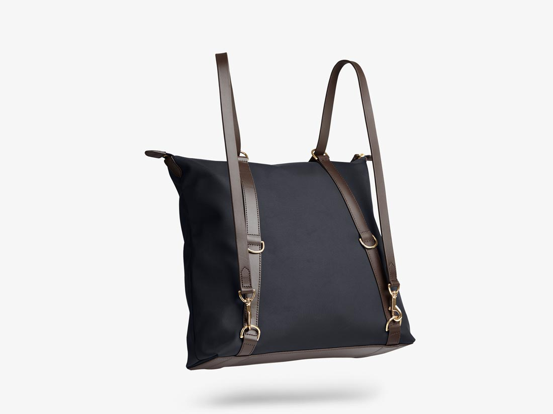 M/S Day Pack – Navy/Dark Brown -  Tote bag - Mismo