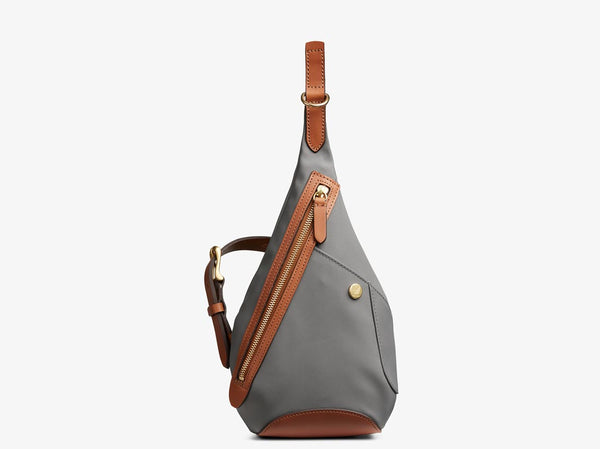 M/S Drop bag - Concrete/Cuoio -  Backpack - Mismo