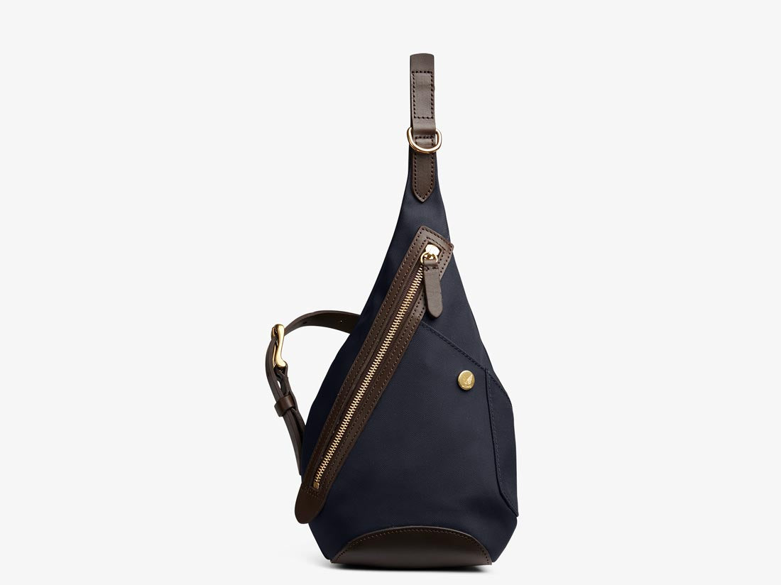 M/S Drop Bag – Navy/Dark Brown -  Backpack - Mismo