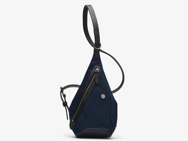 M/S Drop Bag – Deep blue/Black