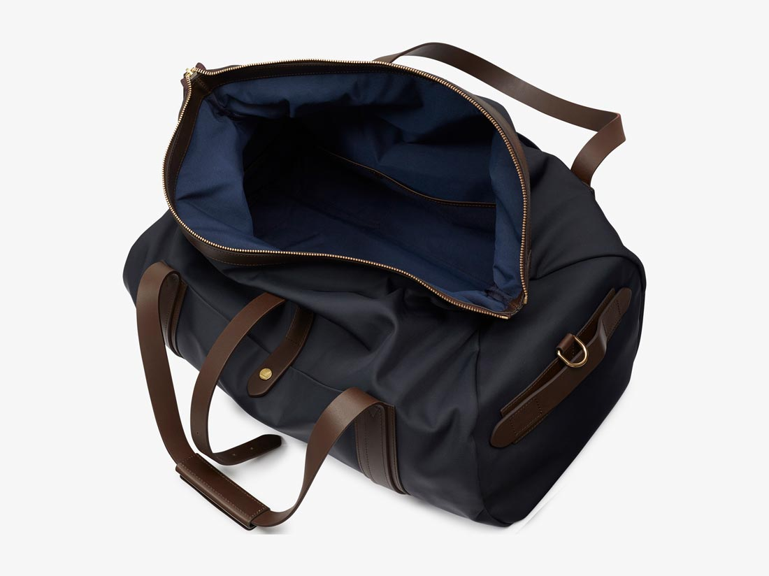 M/S Explorer – Navy/Dark Brown -  Travel bag - Mismo