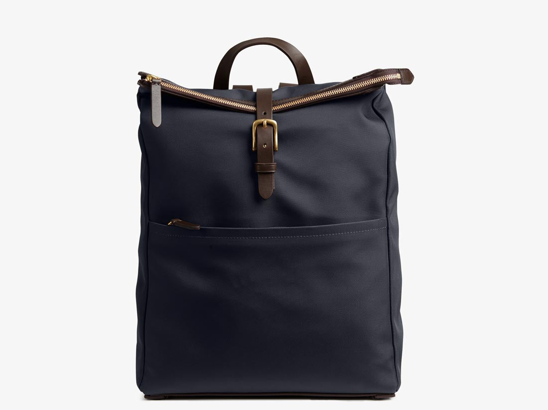 M/S Express – Navy/Dark brown -  Backpack - Mismo