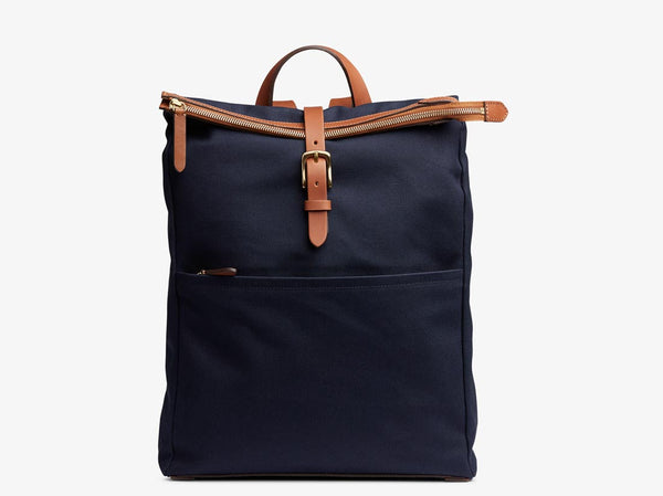 M/S Express - Midnight blue/Cuoio -  Backpack - Mismo