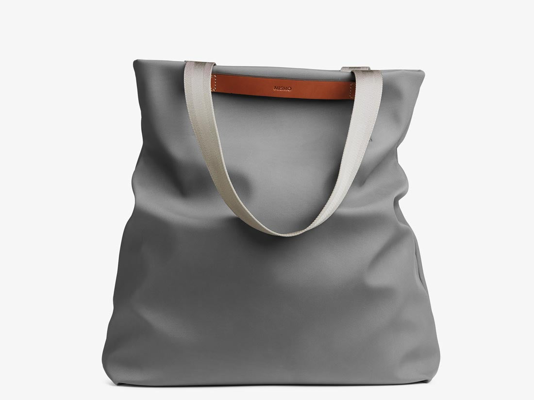 M/S Flair - Concrete/Cuoio -  Tote bag - Mismo