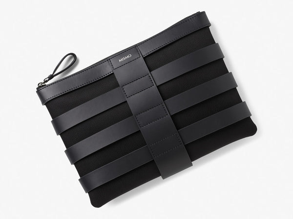 M/S Grid Pouch - Black/Black -  Accessories - Mismo
