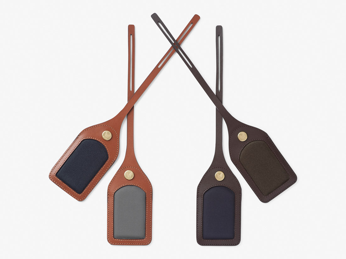 M/S Luggage Tag - Concrete/Cuoio -  Accessories AW18 - Mismo
