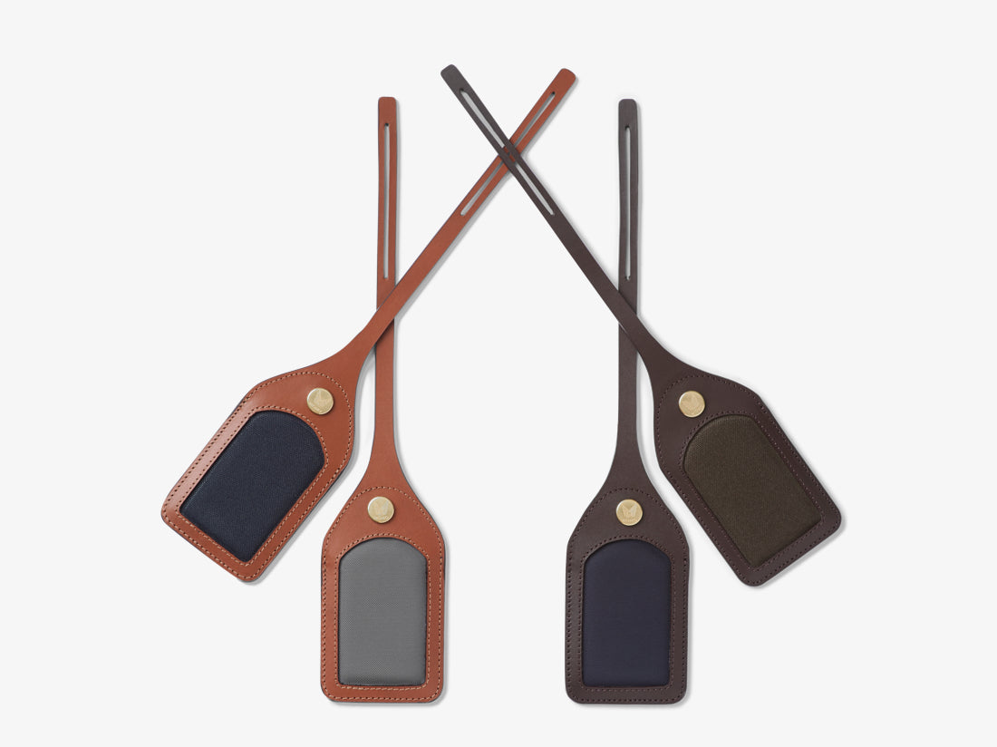 M/S Luggage Tag - Army/Dark brown -  Accessories AW18 - Mismo