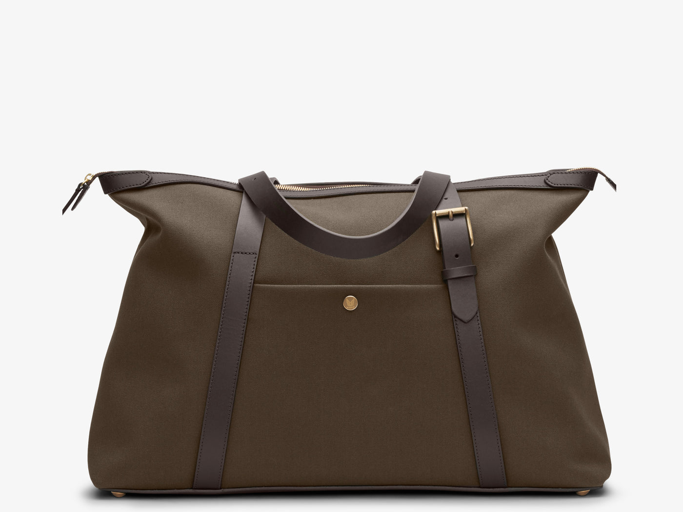 M/S Holdall – Army/Dark Brown